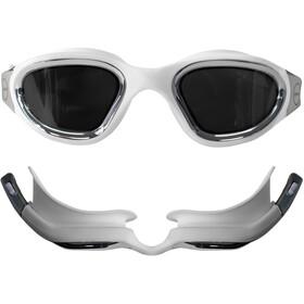Zone3 Vapour Zwembril Gepolariseerd, polarized lens-white/silver